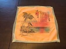 Vintage Hawaian Mother Poem Handkerchief