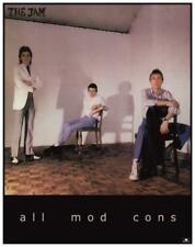 The JAM * POSTER *  - All Mod Cons - Paul Weller PROMO AD - AMAZING EARLY PIC