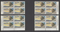 CANADA #512 6¢ Henry Kelsey Match Set Plate Blocks MNH