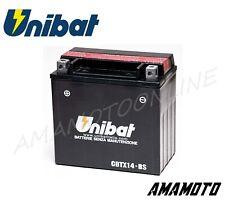 BATTERIA UNIBAT CBTX14-BS=YTX14-BS CAGIVA ELEFANT E (MONOFARO) 7501987-1987