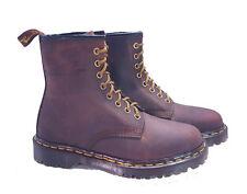💥 Dr. Martens Doc 1460 Boots England Rare Vintage Aztec Crazy Horse UK 3 US 5💥