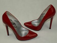 Stunning Lois Point Patent Red, Killer Stiletto Heels!  By Schuh ,Size EU,37