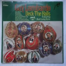 GUY LOMBARDO DECK The HALLS CHRISTMAS & NEW YEARS AULD LANG SYNE  FACTORY SEALED