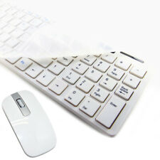 White Wireless Mini Keyboard and Mouse for Cello C32Sfs 32""