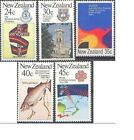 New Zealand 1983 COMMEMORATIONS (5) Mint Unhinged SG 1303-7