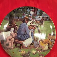 "Schnid ""The Critics"" Collectors Plate #2503 By Lowell Davis Artist"