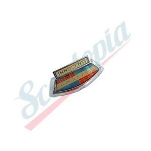 Scootopia Lambretta Series 1 LI TV Horncast Badge E9.1