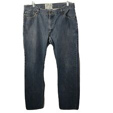 Levi's Signature Slim Straight Jeans 36x34 Blue Cotton Pockets