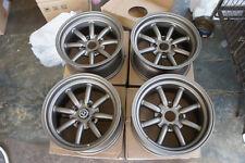 """JDM 15"""" X 8"""" AE86 Datsun pcd114.3 wheels 240z RS Banana watanabe Z31 s30 260z"""
