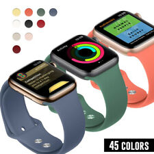 Silicone Sports iWatch Band Strap for Apple Watch Series 5 4 3 2 38/42mm 40/44mm