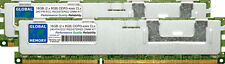 16GB (2x8GB) DDR3 1066/1333MHz 240-PIN ECC Registrada RDIMM SERVIDOR RAM KIT 8R