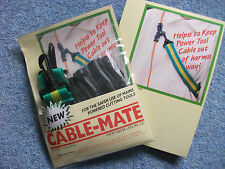 CABLE-MATE -  FOR SAFE USE OF POWER TOOLS