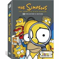 New The Simpsons The Complete Sixth Season Six 6