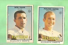 1968 SERIES 2  SCANLENS RUGBY LEAGUE CARDS - PENRITH PANTHERS