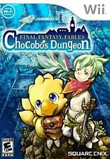Final Fantasy Fables: Chocobo's Dungeon (Nintendo Wii, 2008)