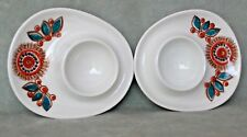 "2 MCM vintage egg cups ""Astrid"" by FIGGJO FLINT, Norway. TURI Gramstad's DESIGN"