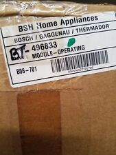 Brand New Bosch Operating Module Part # 496833 Subs to P# 664682
