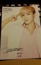 Sm Art exhibition super junior leeteuk official postcard kpop k-pop rare