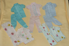 Vintage Barbie Francie Two Piece Pajama Party Lot