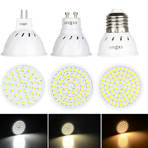 AMPOULES LED SPOT 3W 5W 7W MR16 GU10 E27 2835 SMD 220V 12V 24V Lampe RH304