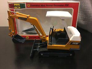 Diapet Komatsu Mini Power Excavator PC30 - Scale 1:25 - Die Cast Model Boxed!