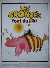 LES BRONZES FONT DU SKI Affiche Cinéma 53x40 Movie Poster LE SPENDID