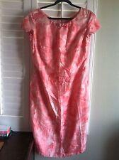 Vintage Dress By Ying Tai Ltd 100% Silk