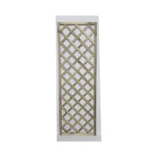 Grigliato in legno grigliati in legno naturale 180 x 90 traliccio recinzione