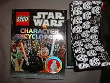 star wars lego encyclopedia and star wars wallet
