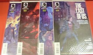 LAST OF US AMERICAN DREAMS 1-4 DARK HORSE NAUGHTY DOG COMIC SET COMPLETE 2013 NM