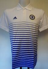 CHELSEA 2014/15 CORE POLO SHIRT BY ADIDAS ADULTS SIZE SMALL BRAND NEW WITH TAGS