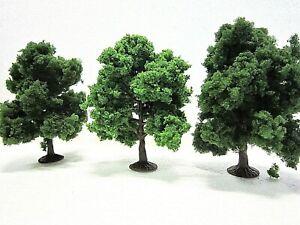 Jordan Nr7D N Scale 7cm LEAFY TREES X 3 pieces New