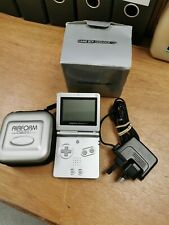 Gameboy Advance SP with charger and case