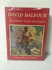 David Balfour Stevenson Ill. N C Wyeth Scribners Sons 1953 Hardcover Dustcover