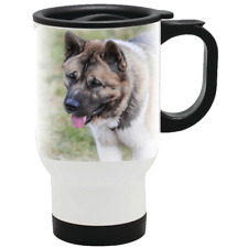 More details for akita travel mug stainless steel insulated drink on the go