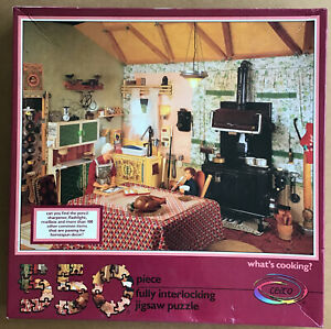 550 Piece Puzzle, What's Cooking? Find Hidden Household Items