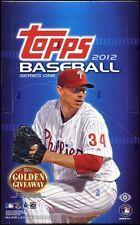 2012 Topps Series 1 Baseball Hobby Box - Factory Sealed!