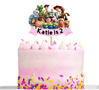 Personalised Toy Story Birthday Cake decoration Topper Any Name And Age