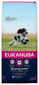 Eukanuba Puppy 1-12 Months Medium Breed 10-25kg Dry Dog Food - 12kg - 257671