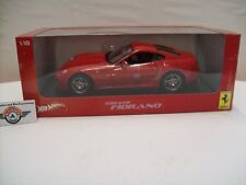 Ferrari 599 GTB Fiorano, Rot, 2006, HOT WHEELS 1:18, OVP