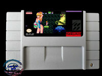 SUPER METROID JUSTIN BAILEY ✪ SNES Video Game  [USA] version