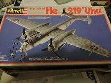 REVELL 1/72ndf SCALE HEINKEL He 219 MODEL KIT # 4127