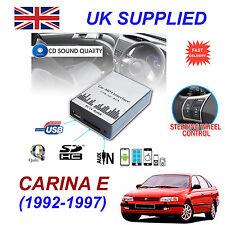 CARINA E 1992-97 MP3 SD USB CD AUX Input Audio Adapter Digital CD Changer Module