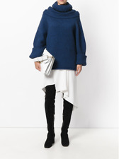 J.W. ANDERSON Oversize Sweater in Indigo Blue Size S $1205