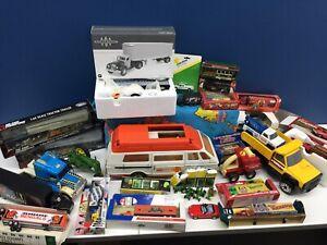 VTG & Modern LOT Die Cast Trucks Trains Toy Cars Tonka Campbells Soup Buddy L