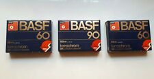 Sealed BASF Ferrochrom 90 And 2 BASF Ferrochrom 60 Cassette Tapes Bundle