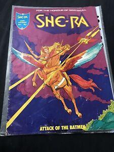 She-Ra UK Comic No 1 For The Honour Of Grayskull - 1986