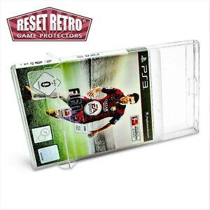 5 x Klarsicht Schutzhüllen Playstation PS 3 Spiele in OVP 0,3mm protector box