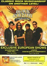 Black Country Communion - BCCIV 2018 UK Dates - Full Size Magazine Advert