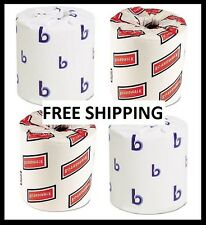 ~WHOLESALE~ Case Toilet Paper Lot 96 2 Ply Tissue Rolls 500 Sheet Office Bath TP